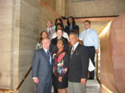 Children's Collective Staff with Councilmembers LaBonge & Parks