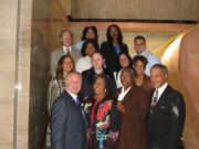 Councilmembers with Staff 2