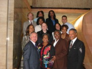Councilmembers with Staff 3