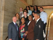Councilmembers with Staff